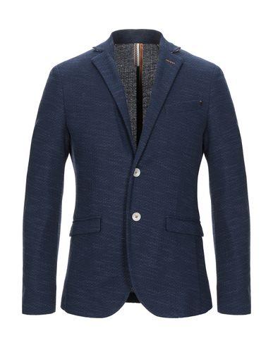 Купить Мужской пиджак BICOLORE® темно-синего цвета