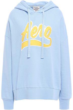 BAUM UND PFERDGARTEN Jaryn printed cotton-blend fleece hooded sweatshirt