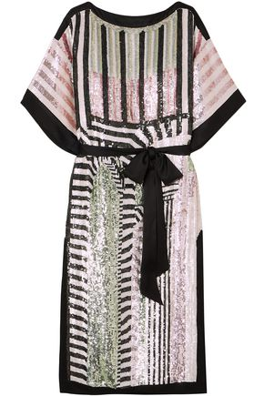 TEMPERLEY LONDON Idol sequined tulle midi dress