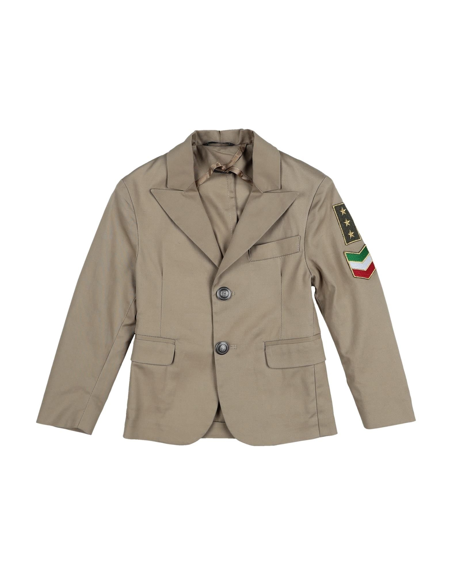 26.7 Twentysixseven Kids' Suit Jackets In Sand