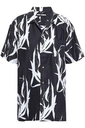 DOUBLE RAINBOUU Printed cotton shirt