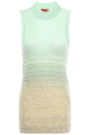 MISSONI Degradé brushed knitted top