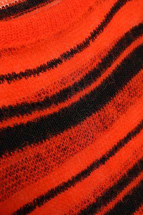 MISSONI Striped crochet-knit top
