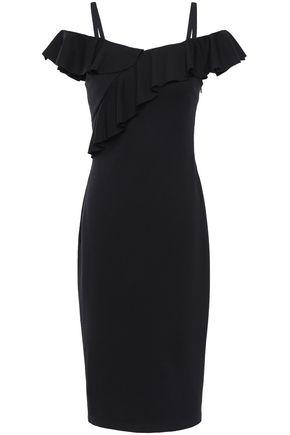 BAILEY 44 Cold-shoulder ponte dress