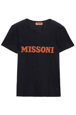 MISSONI プリント コットンジャージー Tシャツ