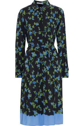 ALTUZARRA Strada ruched floral-print silk crepe de chine dress