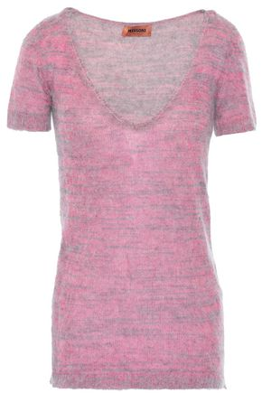 MISSONI Brushed knitted top