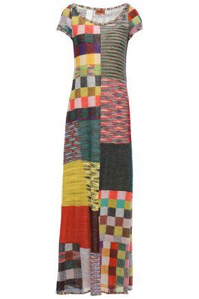 MISSONI Patchwork intarsia-knit maxi dress