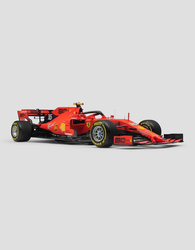 Ferrari SF90 Leclerc 1:8 scale model