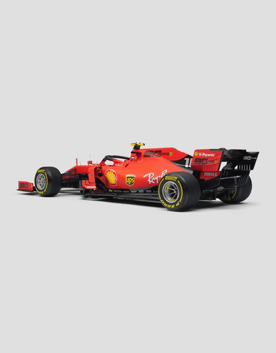 Ferrari SF90 Leclerc model in 1:8 scale