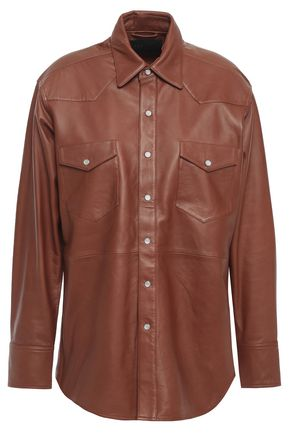SPRWMN Leather shirt