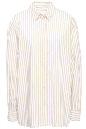 """NILI LOTAN قميص """"نوا"""" من قماش البوبلين القطني المخطط"""
