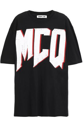McQ Alexander McQueen プリント コットンジャージー Tシャツ
