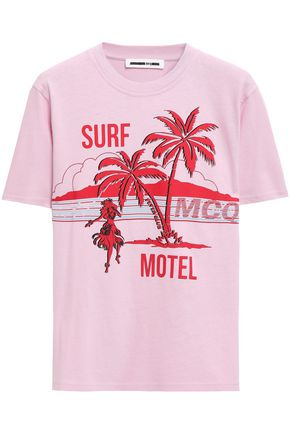 McQ Alexander McQueen Printed cotton-jersey T-shirt