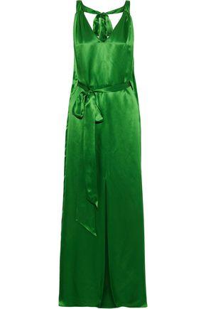 TEMPERLEY LONDON Darling open-back silk-blend satin gown