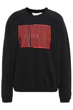 PROENZA SCHOULER PSWL French cotton-terry sweatshirt