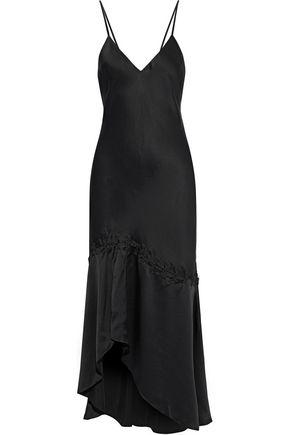 CAMI NYC The Nadia hook-detailed silk-charmeuse midi slip dress