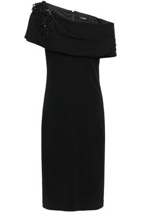 BADGLEY MISCHKA 装飾付き ジャージー ワンピース