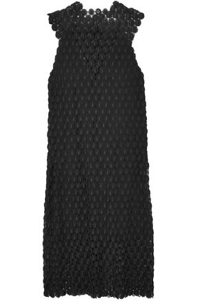 PACO RABANNE Crocheted lace midi dress