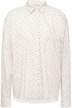 MASSCOB Lois floral-print cotton-broadcloth shirt
