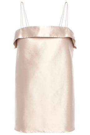 DEITAS Coco silk-shantung camisole