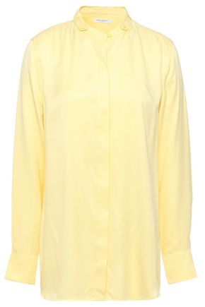 EQUIPMENT Washed silk-blend shirt