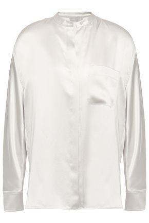 VINCE. Silk-satin blouse