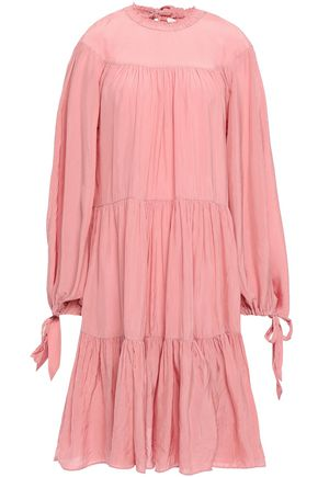 3.1 PHILLIP LIM Gathered tiered crepe dress