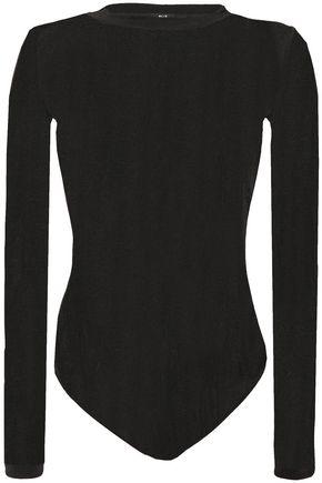 ALIX NYC Satin-jersey bodysuit