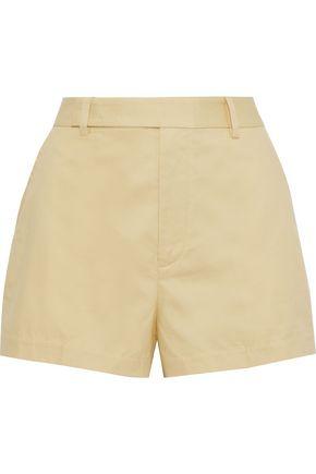 EQUIPMENT Jeannine cotton-piqué shorts
