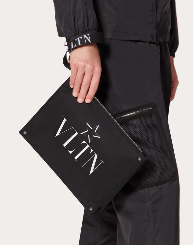 Clutch VLTN STAR aus Nylon