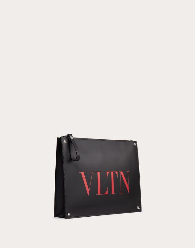 Кожаный клатч VLTN