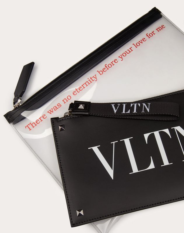 투명 VLTN 파우치