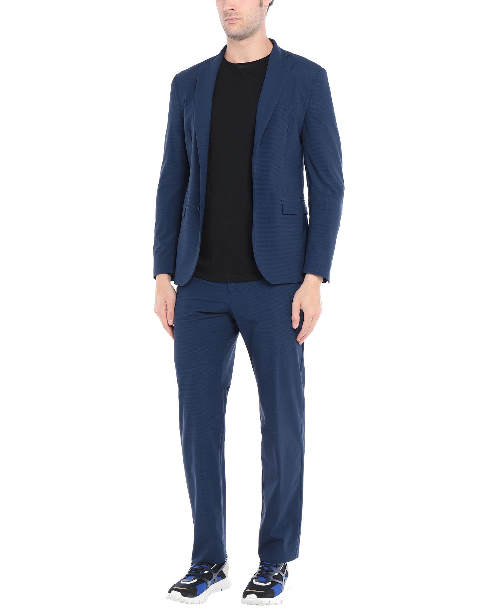 《セール開催中》TONELLO メンズ スーツ ブルー 50 ナイロン 71% / ポリウレタン 29%