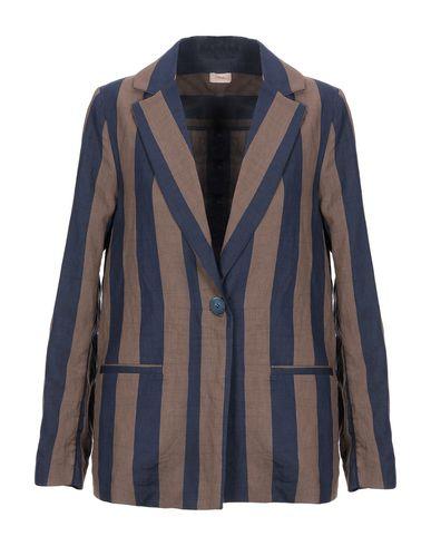 Фото - Женский пиджак EMMA темно-синего цвета