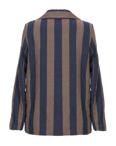 Фото 2 - Женский пиджак EMMA темно-синего цвета