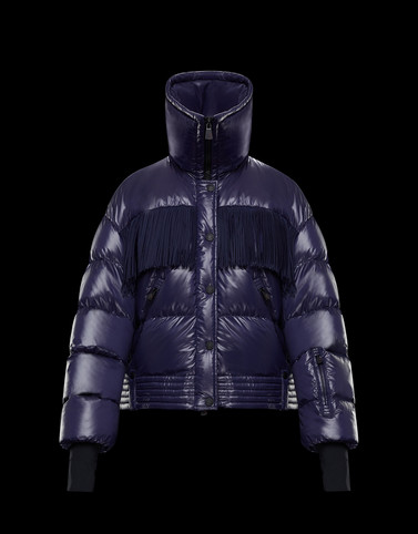 POURRI Purple Short Down Jackets