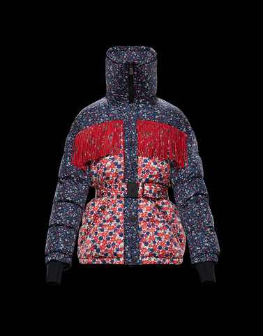 ORBEILLAZ Multicoloured Short Down Jackets Woman