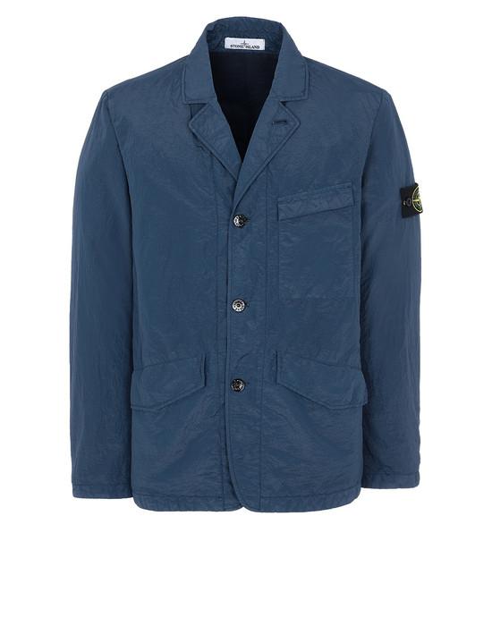 STONE ISLAND 80140 S.I.PA/PL SEERSUCKER-TC Suit Man Marine Blue