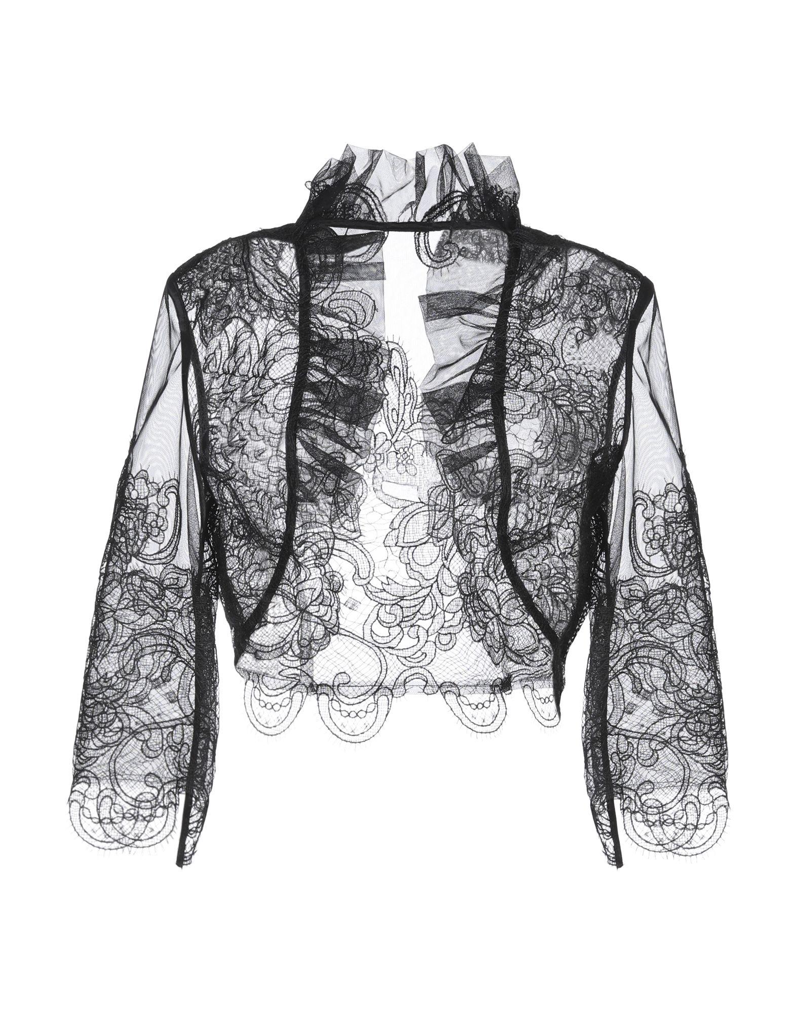 《セール開催中》MAESTRI レディース テーラードジャケット ブラック 8 ポリエステル 100%