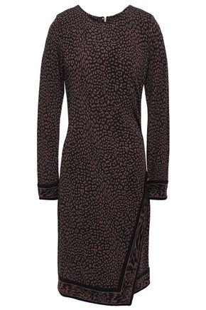 MICHAEL MICHAEL KORS Printed crepe-jersey dress