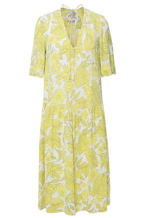 BAUM UND PFERDGARTEN Printed crepe dress