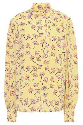 BAUM UND PFERDGARTEN Floral-print crepe blouse