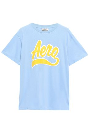 BAUM UND PFERDGARTEN プリント オーガニックコットンジャージー Tシャツ