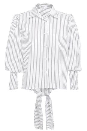STATESIDE قميص من قماش البوبلين القطني المخطط