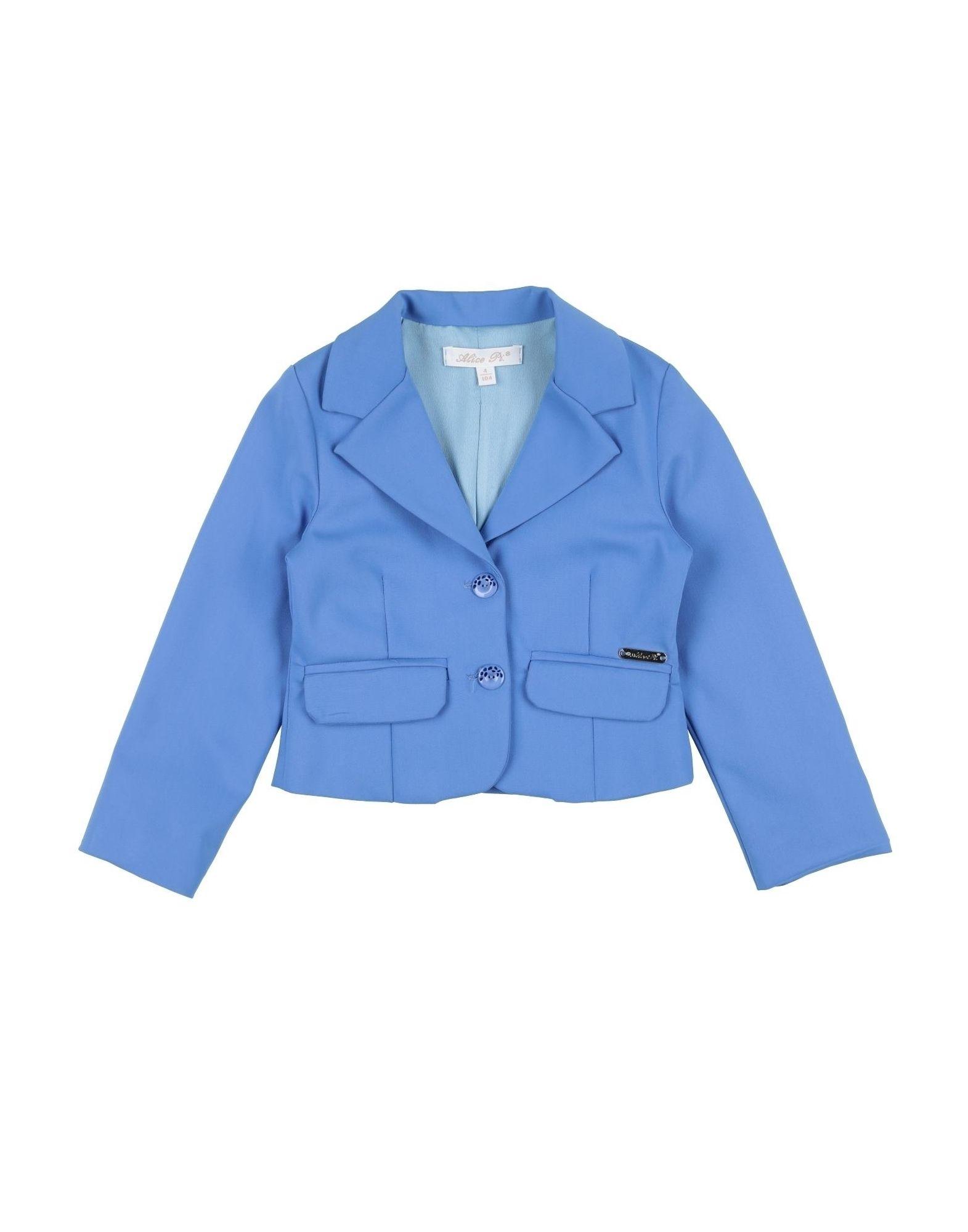 Alice Pi. Kids' Suit Jackets In Blue