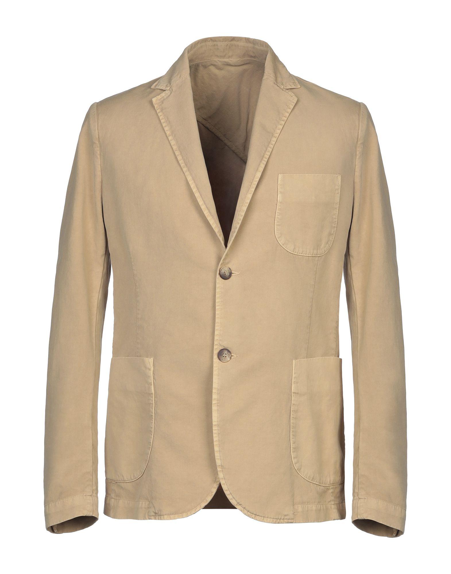 《セール開催中》AUTHENTIC ORIGINAL VINTAGE STYLE メンズ テーラードジャケット サンド 46 コットン 100%