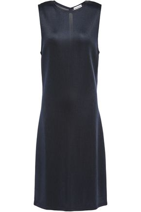 PACO RABANNE Cutout piqué dress