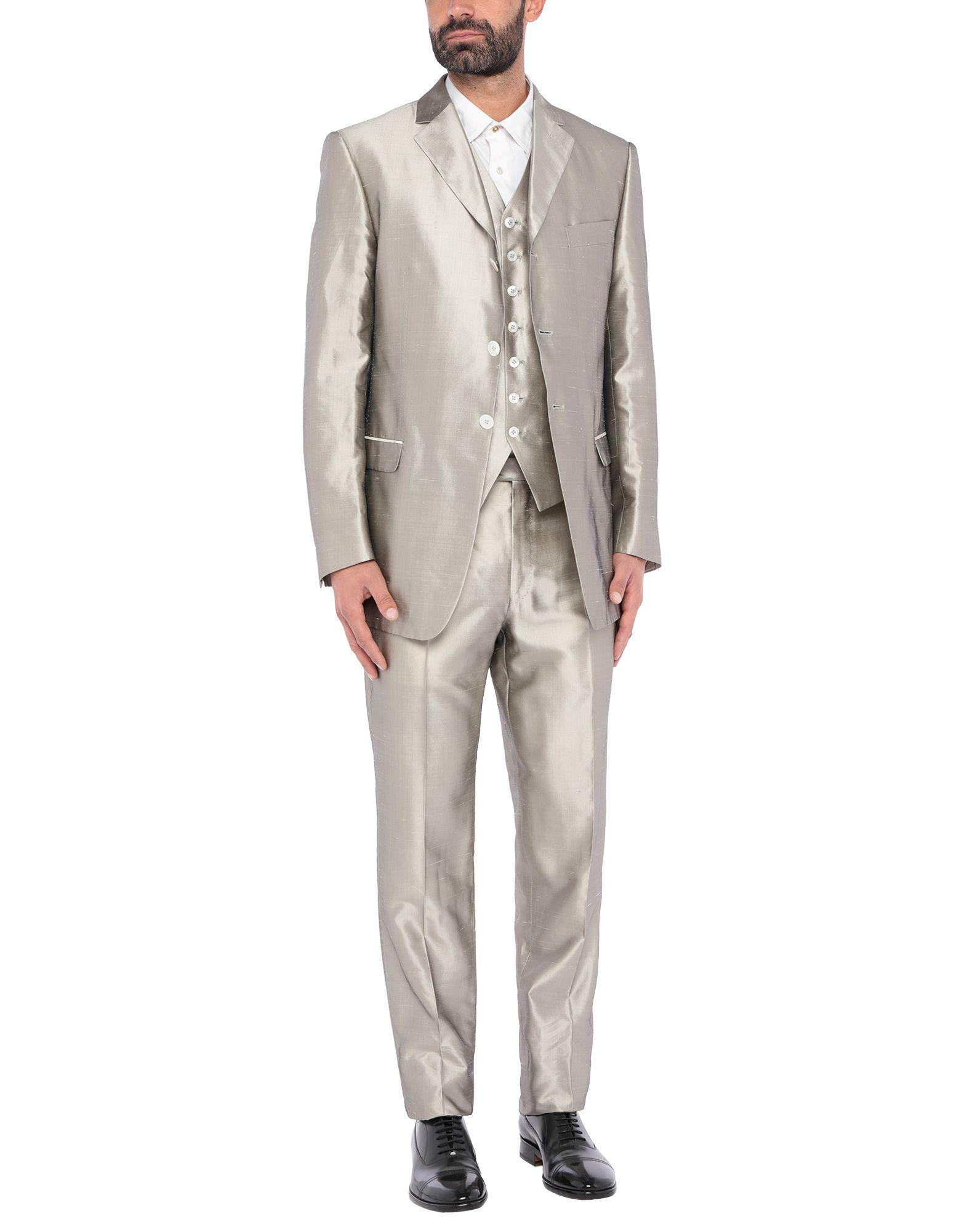 《セール開催中》PAL ZILERI CERIMONIA メンズ スーツ グレー 52 キュプラ