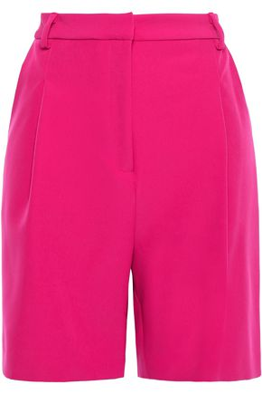 SALLY LAPOINTE Stretch-crepe shorts